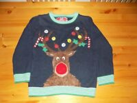 AGE 6-7 - CHRISTMAS MUSICAL JUMPER