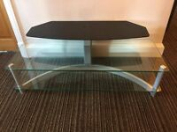Glass TV Stand - Perfect Condition