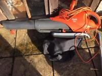Flymo scirocco 3000w leaf blower and vacuum