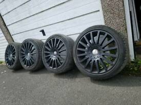 225/40/ZR18 FORD FOCUS ST TYRED & RIMS