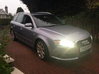 "CHECK THIS OUT"""" (233BHP) PADDLESHIFT""AUDI A4 AVANT 3.0 TDI S LINE QUATTRO SAT NAV LEATHER"