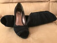 Navy Lunar Shoes with Matching Handbag