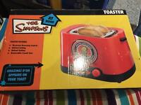 The simpsons toaster