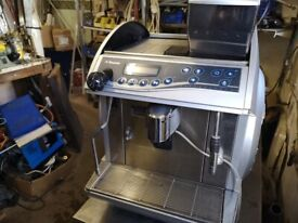 Saeco coffee machine bean to cop, not working spares or repairs.