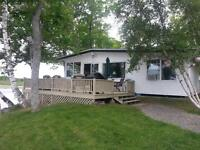 Charming cottage for rent on beautiful First Eel River Lake