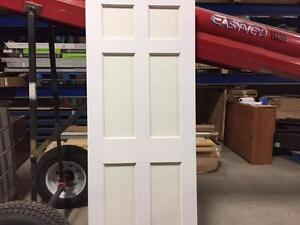 Porte de bois - blanche