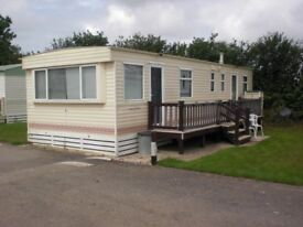 34 x 12 ft. 5 Berth Holiday Caravan at Chapmanswell. 3 Month let from 1st September to 30th November