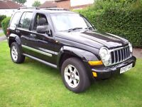 FOR SALE!!! 2007 JEEP CHEROKEE LIMITED 2.7 CRD -LOW MILEAGE- £2575!!