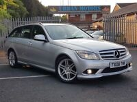 2008 REG MERCEDES BENZ C220 CDI SPORT AUTO LOW MILES MINT PX-WELCOME