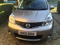 2012 Nissan Note 1.5 manual , diesel