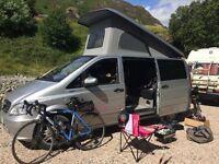 2014 Mercedes Vito Camper Van Campervan with R&R Pop up Roof Bed 2016 Conversion NO VAT
