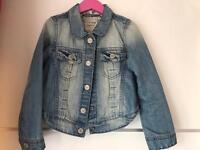 Denim jacket size 4-5