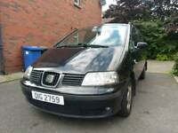 Seat Alhambra 1.9TDI 7 seater for sale