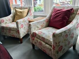 A Pair of Claude Kingcome Chairs