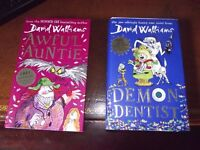 Two Hardback Books - David Walliams