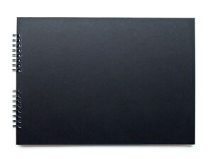 A4-or-A5-Black-scrapbook-with-20-black-pages-Guest-Book-Photo-Album