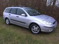 AUTOMATIC ESTATE FORD FOCUS - 1 YEARS MOT - SUPER CLEAN EXAMPLE