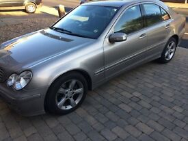 Mercedes Benz C CLASS 04 plate, full service history and MOT until May 18