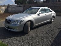 Mercedes S320 3.0TD 7G-Tronic S320 CDi, FSH, Silver with black leather. De-badged.