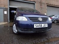 💥 58 VOLKSWAGEN FOX 1.2,MOT FEB 018,3 OWNERS,PART HISTORY,VERY RELIABLE SMALL CAR