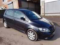 2005 VOLKSWAGEN GOLF PLUS 2.0 GT TDI 5 DOOR HATCHBACK BLACK 140 BHP 12 MONTHS M.O.T