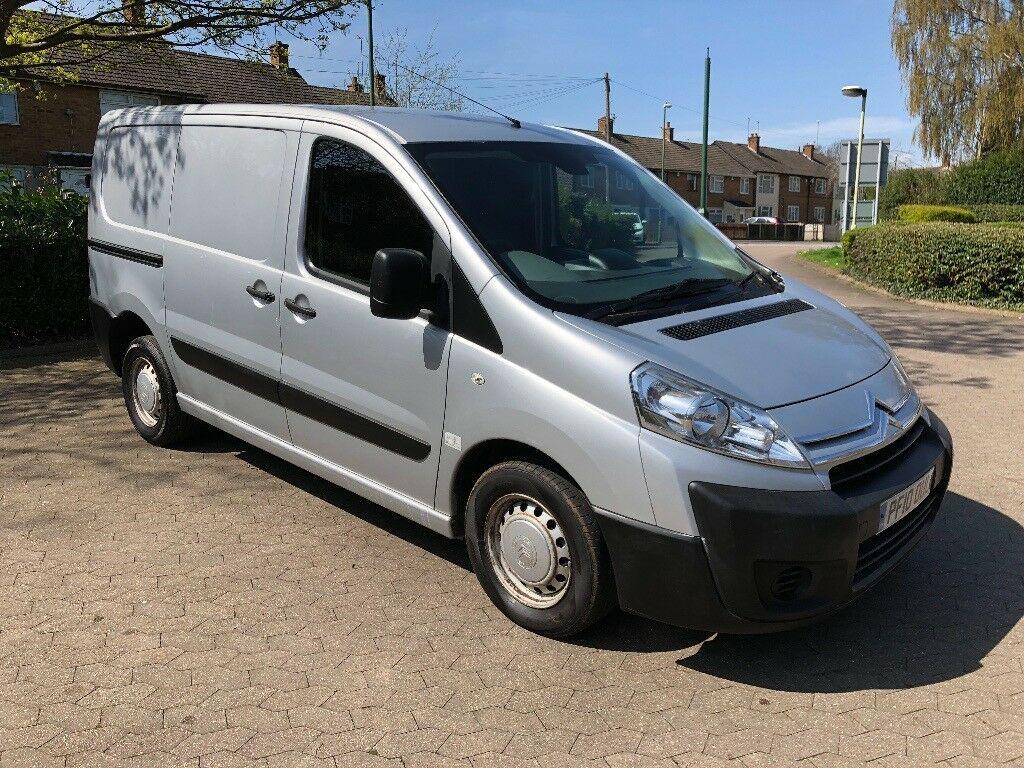 b76cd6c4e7 2010 citroen dispatch 1.6 hdi 10 months mot silver service same Peugeot  expert Mint
