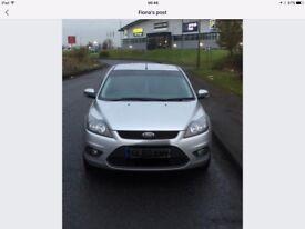 Ford Focus Silver 1.6 Zetec Petrol