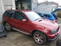 2003 BMW X5 3.0D SPORT SEMI-AUTO 5 DOOR HATCHBACK RED
