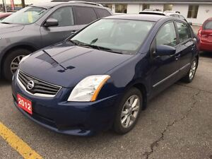 2012 Nissan Sentra 2.0 S HEATED SEATS, ALLOYS, REAR SPOILER