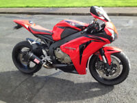 2008 Honda CBR 1000 RR, loads of extras, priced to sell