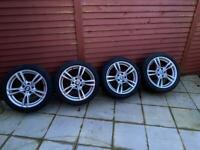 18inch BMW alloys