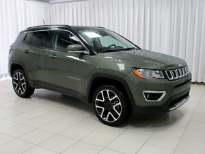 2017 Jeep Compass TEST DRIVE TODAY!!! LIMITED 4X4 SUV w/ DUAL CL