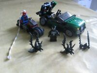 LEGO Super Heroes 76004: Spider-Man Spider-Cycle Chase