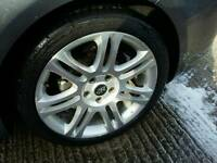 Vw audi skoda alloys continental tyres