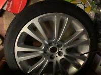 19 inch wheel with tyre