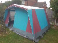 Relum 4 man canvas tent in excellent condition