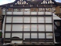 Glaziers frail racking