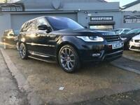 LAND ROVER RANGE ROVER SPORT 3.0 SDV6 AUTOBIOGRAPHY DYNAMIC 5d AUTO 288 BHP (black) 2013