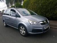 2006 VAUXHALL ZAFIRA LIFE 7 SEATER FAMILY CAR FOR SALE OR SWAP