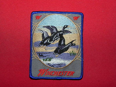 WINCHESTER DUCKS IN THE FIELD PATCH ABOUT 3.5 INCH FREE SHIP
