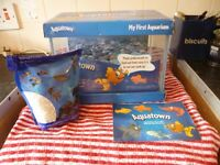 Aqua Town Kid's Aquarium with Filter 12 Litre