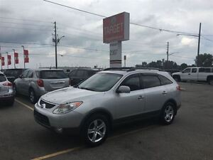 2007 Hyundai Veracruz Limited, Loaded; Roof,  Leather, DVD, 7-Pa