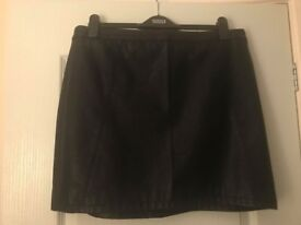 Dorothy Perkins Size 16 Faux Leather skirt