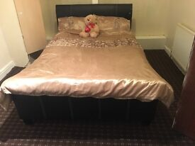 Double bed ONLY
