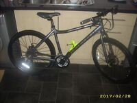 """Carrera Subway Disc Womens Female Ladies Hybrid Town Commuter Bike 2016 18"""" Excellent. May Deliver"""