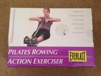 Brand new boxed Everlast pilates rowing action machine exercise
