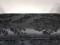 Shabby Boudoir Chaise Damask Longue Lounge Bench Home Decoration Sofa