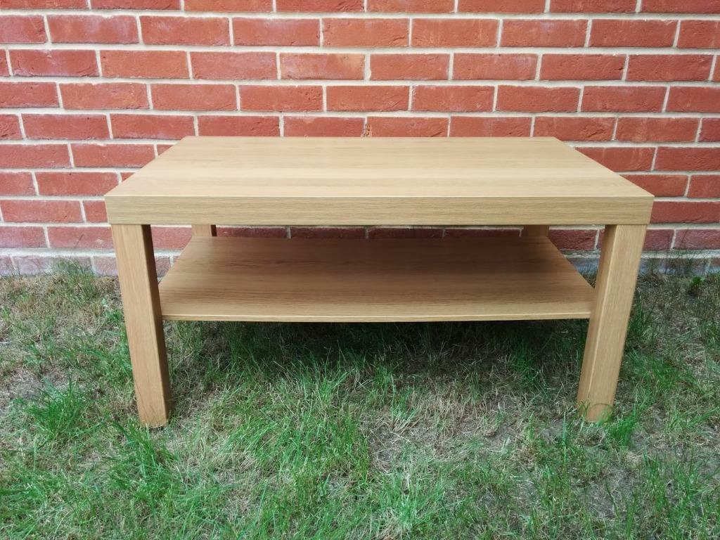 Ikea lack oak coffee table in colchester essex gumtree for Coffee tables gumtree