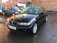 BMW 3 SERIES 2.0 318i SE SALOON PETROL BLACK