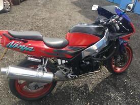 Kawasaki zx6r swap for 125